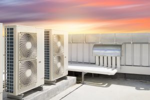 HVAC on the roof