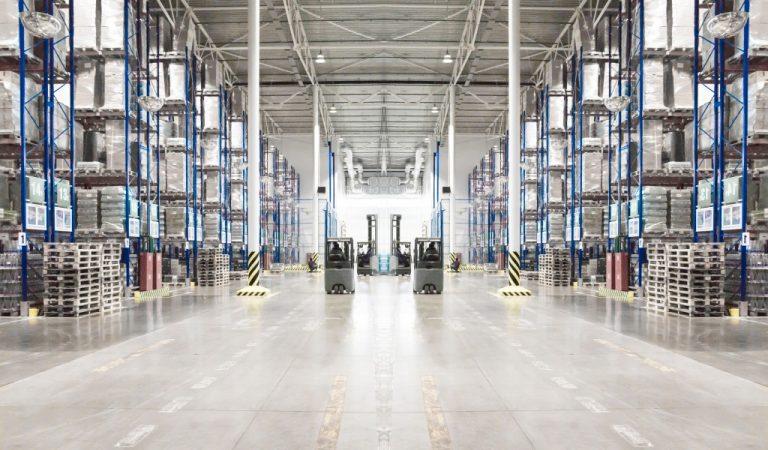 Warehouse setting