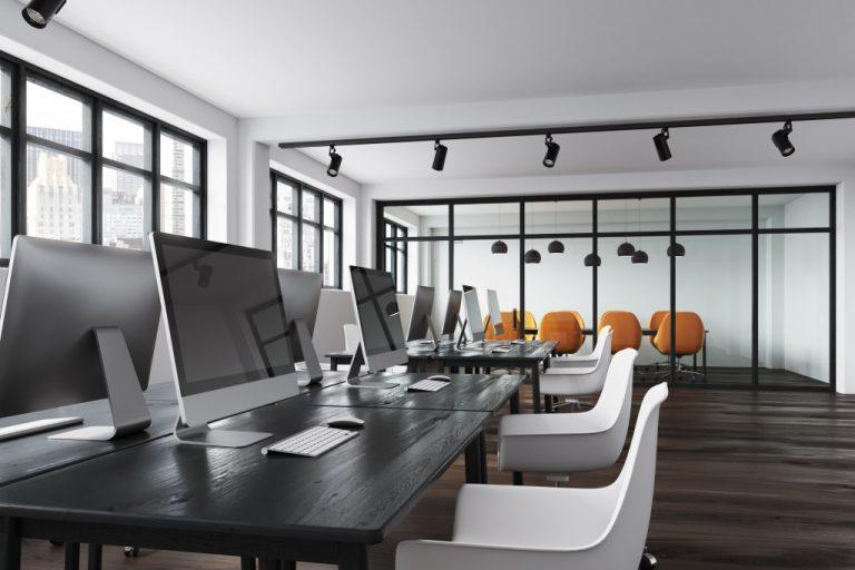 empty open office