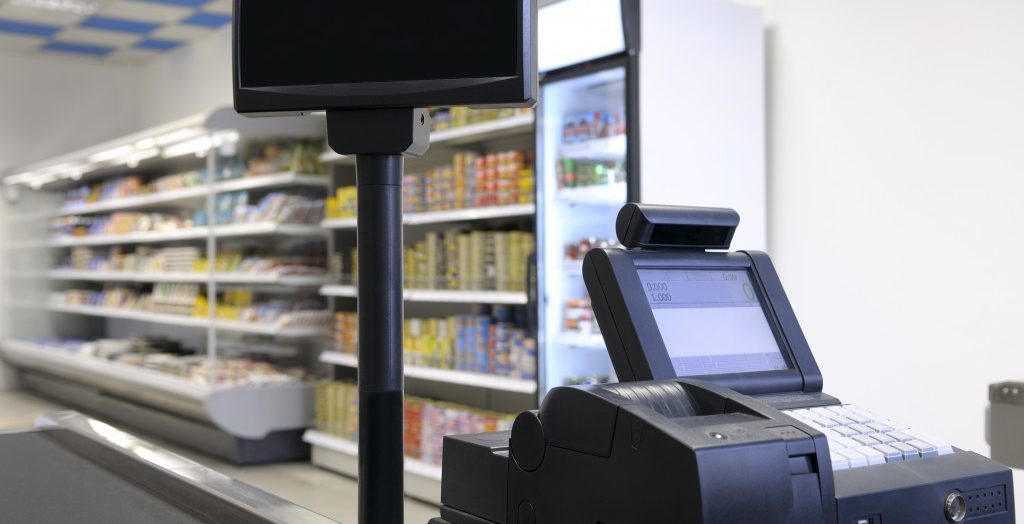 poc machine at the grocery store