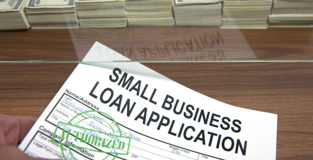 small business loan application form