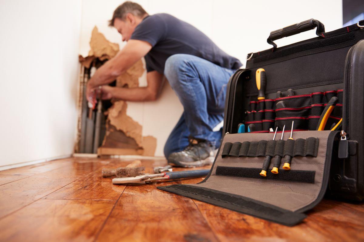 home repair toolbox