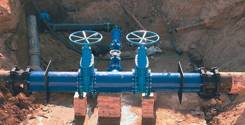 water pipes underground